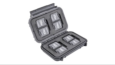CROXS  Memory Card Case Features