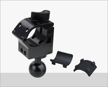 KUPO Grip COUPLER W/ BALL HEAD FOR DIA.25 TO 30MM