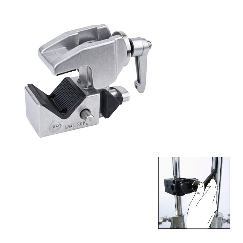 KCP-710 / Super Convi Clamp w/Racheted Handle (Silver)
