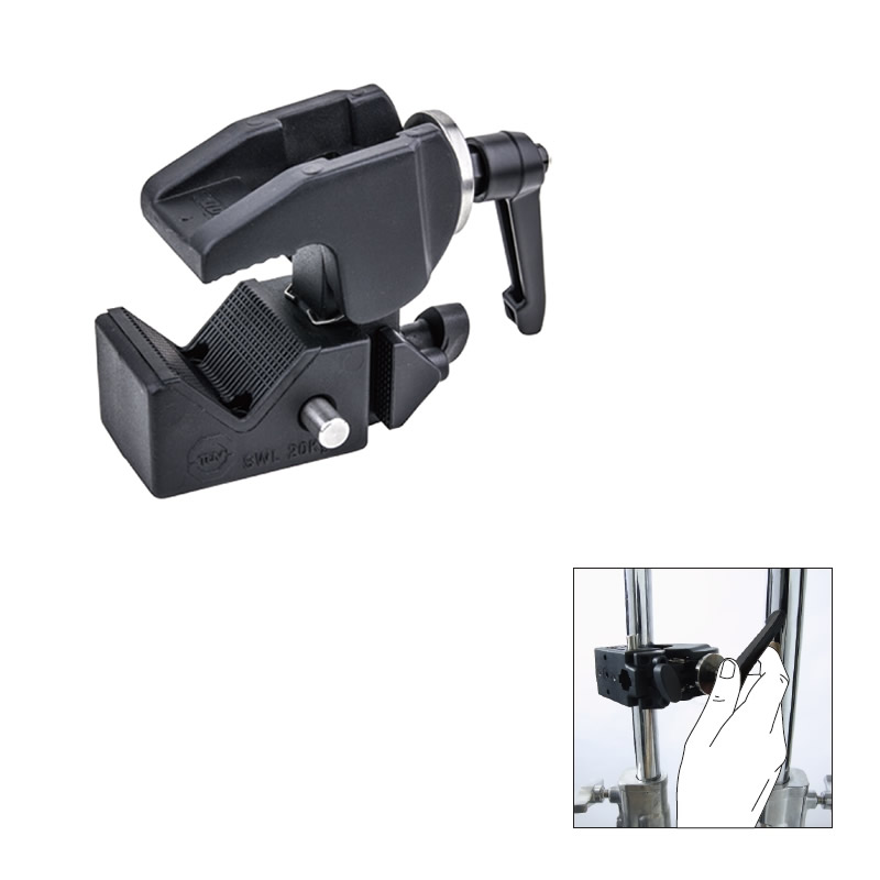 KCP-710B / Super Convi Clamp w/Racheted Handle (Black)