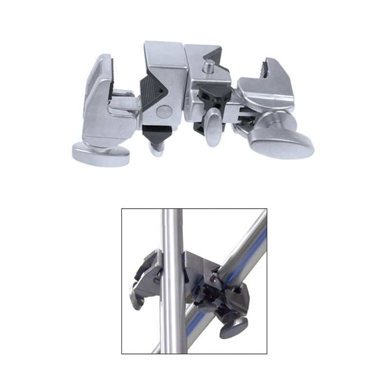 KCP-720 / Double Super Convi Clamp (Silver)