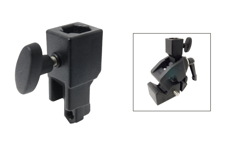 KD-730 & KD-730B / Super Convi Clamp Additional Socket (Silver & Black)