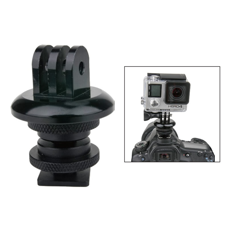 KS-134 / Gopro tripod mount w/ hot shoe adapter