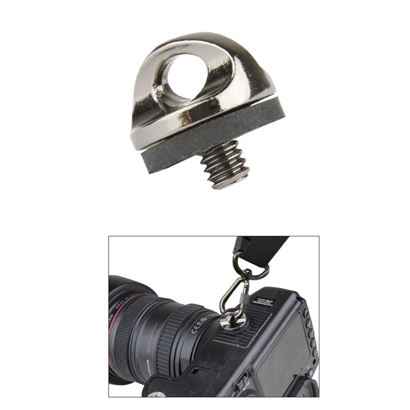 "KS-142 / 1/4"" D-ring camera mounting screw"