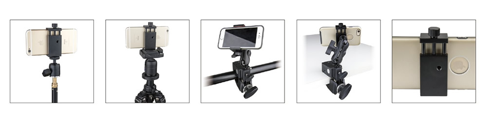 MH-003 / Metal Universal Smartphone Clamp